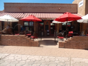 patio at DOS