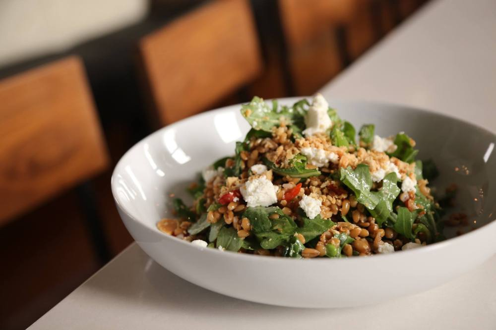 farro salad at reilly
